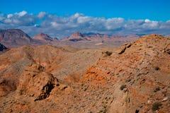 Paysage dans le lac Mead National Recreation Area, Etats-Unis photos stock