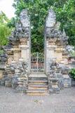 Paysage dans le temple Bali Indonésie d'Uluwatu Images libres de droits