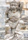 Paysage dans le temple Bali Indonésie d'Uluwatu Photos libres de droits