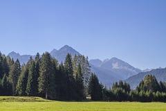 Paysage dans Lech Valley photographie stock libre de droits