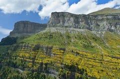 Paysage dans les Pyrénées espagnols Image stock