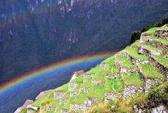Paysage dans Machu Picchu au Pérou photos stock