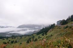 Paysage dans mountian alishan Image libre de droits