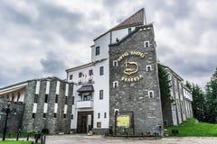 Paysage dans Romaniaa Photos stock