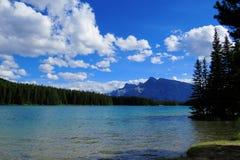 Paysage de Banff photos libres de droits