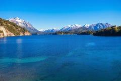 Paysage de Bariloche en Argentine Photographie stock