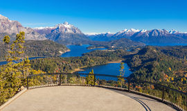 Paysage de Bariloche en Argentine photo libre de droits