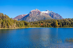Paysage de Bariloche en Argentine Photo stock