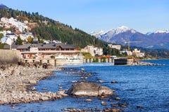 Paysage de Bariloche en Argentine Image libre de droits