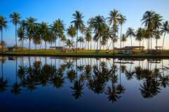 Paysage de beau lever de soleil photos libres de droits