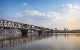 Paysage de Belgrade Photos libres de droits