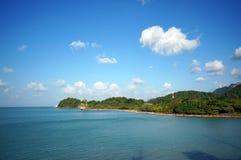 Paysage de belles îles tropicales photos libres de droits