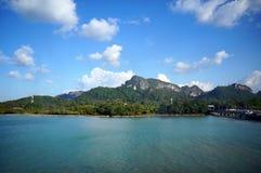 Paysage de belles îles tropicales photos stock
