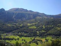 Paysage de Biasca Photo libre de droits
