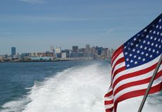 Paysage de Boston photographie stock libre de droits