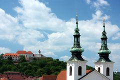 Paysage de Brno Photos stock