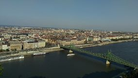 Paysage de Budapest Photos stock