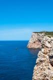 Paysage de côte de la Sardaigne image libre de droits