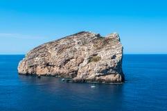 Paysage de côte de la Sardaigne Photos libres de droits