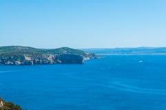Paysage de côte de la Sardaigne Image stock