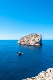 Paysage de côte de la Sardaigne photographie stock libre de droits