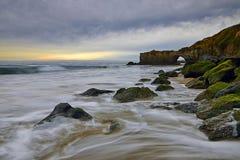 Paysage de côte ouest des USA et forme de relief unique photo libre de droits