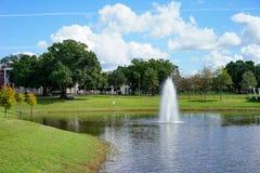 Paysage de campus d'USF Photos libres de droits