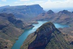 Paysage de canyon de rivière de Blyde Photo libre de droits