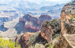 Paysage de canyon grand Photographie stock