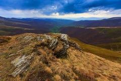 Paysage de Carpathiens Photo libre de droits