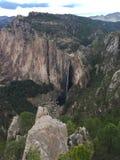 Paysage de cascade de Basaseachi Images stock