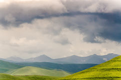 Paysage de Caucase Photos stock