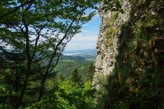 Paysage de chaîne de Pieniny en Pologne du sud photo stock
