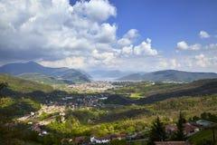 Paysage de colline Image libre de droits