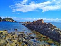 Paysage de Costa Brava Images libres de droits