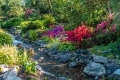 Paysage 4 de courant de jardin photographie stock libre de droits