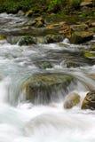 Paysage de courant en parc géologique national de Zhangjiajie Photographie stock