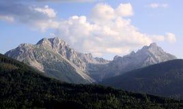 Paysage de crête de montagne de Kom Kucki Image libre de droits