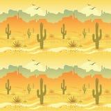 Paysage de désert Images stock