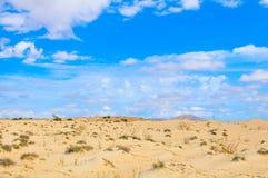 Paysage de désert au Cap Vert, Afrique Photographie stock