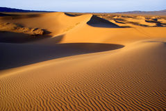 Paysage de désert, désert de Gobi, Mongolie image libre de droits