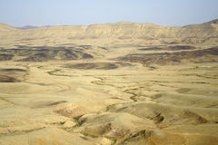 Paysage de désert d'horizontal Image stock