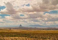 Paysage de désert dans Shiprock, Nouveau Mexique images libres de droits