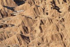 Paysage de désert de vallée de Mars Photo libre de droits