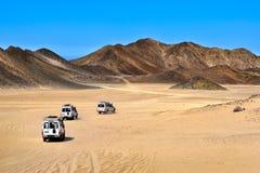 Paysage de désert du Sahara Images libres de droits