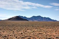Paysage de désert - NamibRand, Namibie Photographie stock