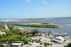 Paysage de Daytona Beach Photographie stock libre de droits