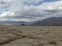 Paysage de Death Valley Images libres de droits