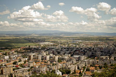 Paysage de Deva-Hunedoara Photo libre de droits