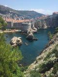 Paysage de Dubrovnik Photo libre de droits